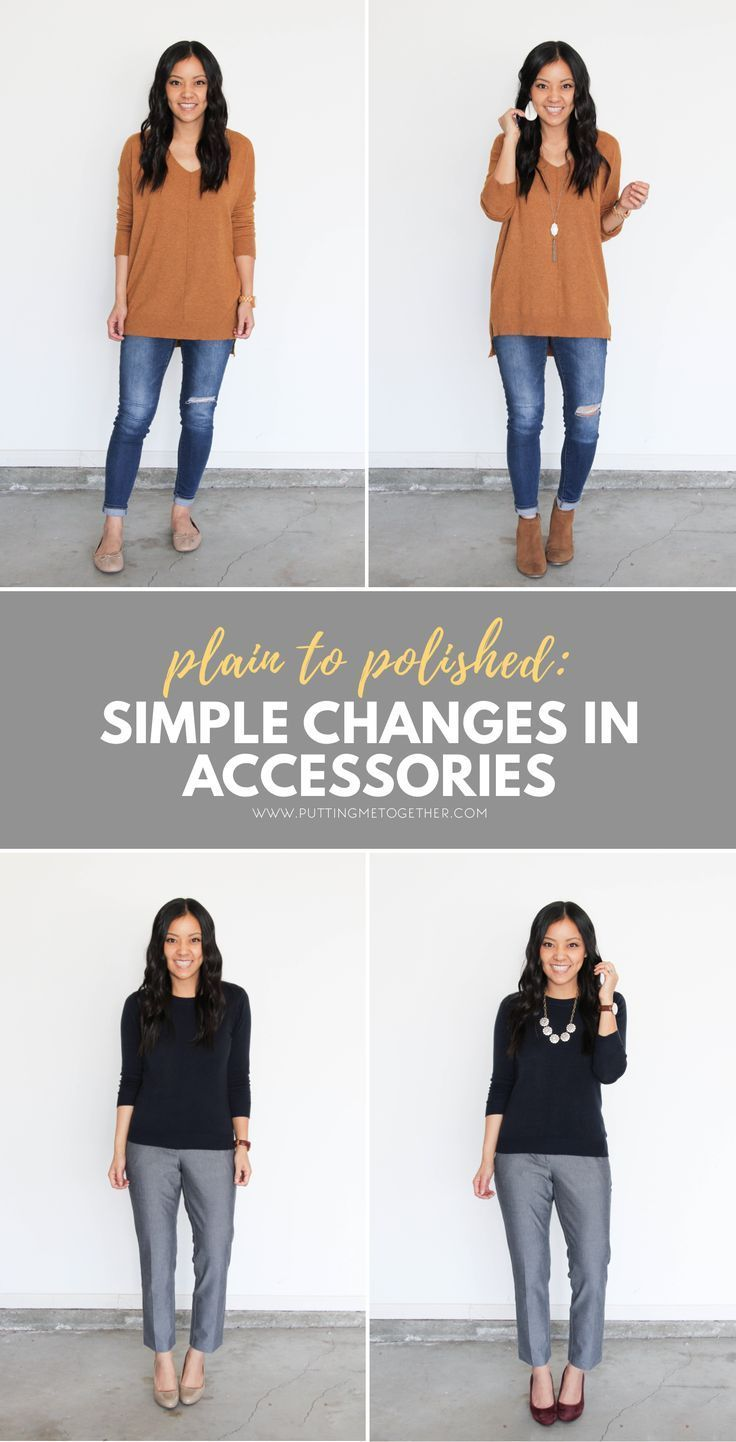 Plain to Polished: How to Pull Outfits Together With Accessories