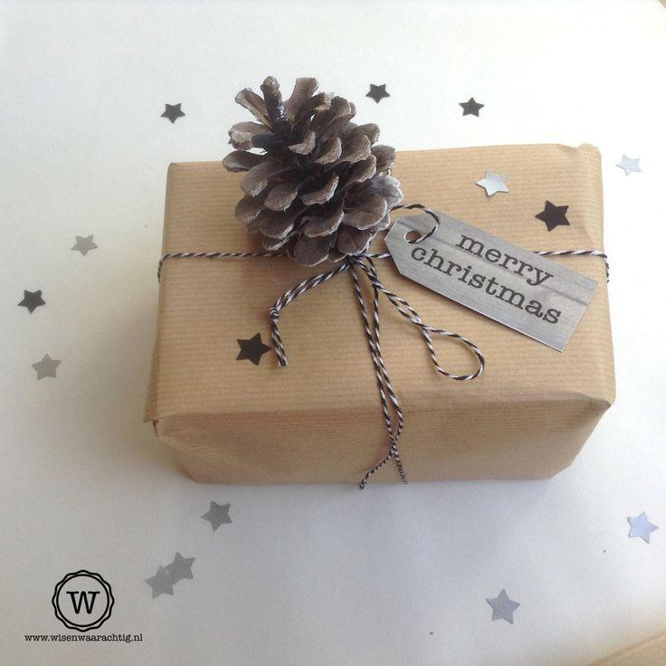 Christmas wrap ♥ Weihnachten Deko #geschenk #verpackung #natur