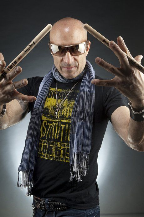Steve Barney's Juicing & Health Tips with Kenny Aronoff | Kenny Aronoff | MusicRadar
