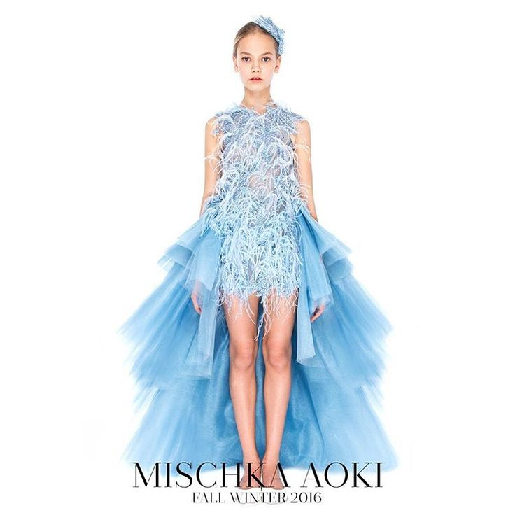 MISCHKA AOKI FW 2016/17 *** The 'Ice Queen' dress from Mischka Aoki FW16 Collection, US$ 11,755