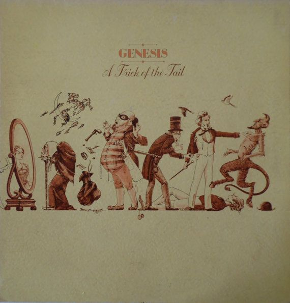 GENESIS A Trick Of The Tail Uk Issue 1976 33 rpm LP Album Vinyl Rock Prog pop 80s phil collins CDS4001 Free s&h