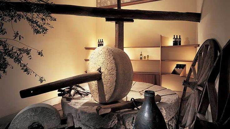 L'antico frantoio della Certosa