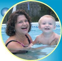 How to teach your baby to go underwater, babies nturally hold their breath, Baby swimming reflex, Teach your baby to go under the water and ...