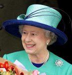 Queen Elizabeth, December 25, 2001 in Philip Somerville | Royal Hats