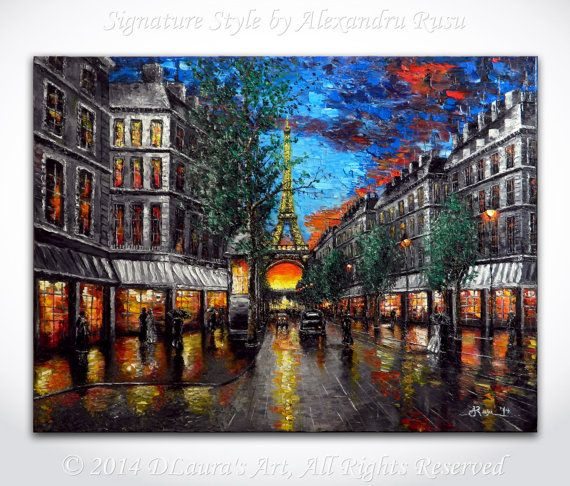 Hey, I found this really awesome Etsy listing at https://www.etsy.com/listing/181339245/paris-painting-eiffel-tower-art