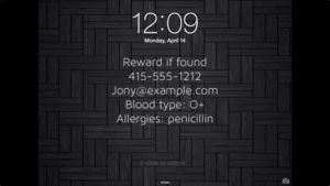 Build a custom lock screen to save your iPhone, your iPad, or even your life | Macworld