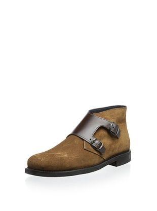 81% OFF The Generic Man Men's Monkman Ankle Boot (Camel/Brown)