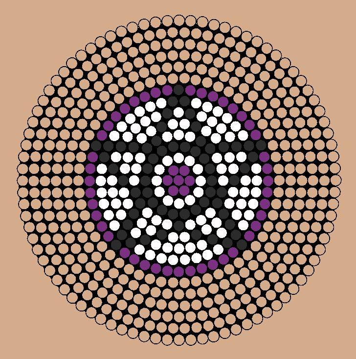 Pentagram Perler Bead Pattern Faves Pinterest