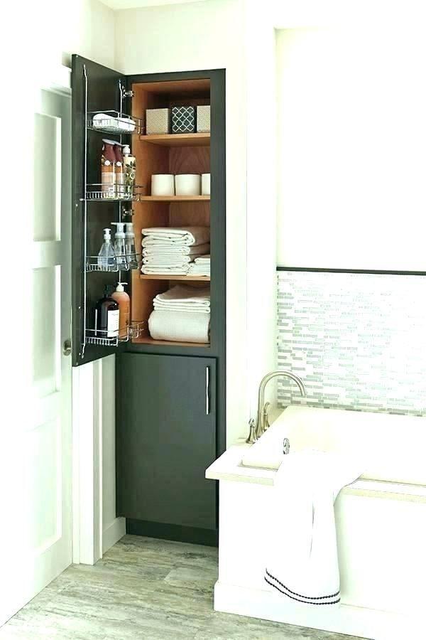 Small Bathroom Closet Storage Ideas In