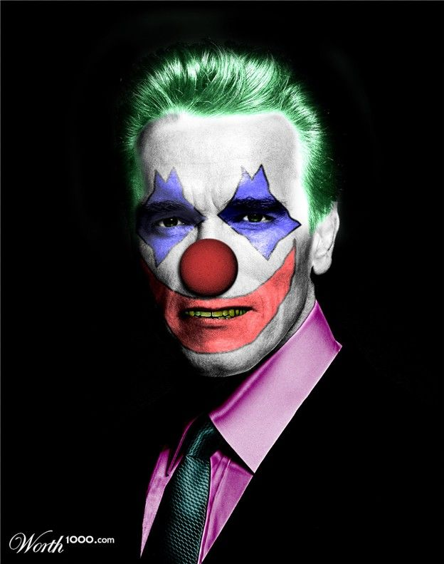 Celebrity Clowns 3 - Worth1000 Contests