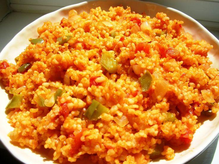 Bulgur Pilavi    Réalisé avec duboulgour(blé dur débarrassé du son qui l'enveloppe, précuit à la vapeur, séché etconcassé), le bulgur ...