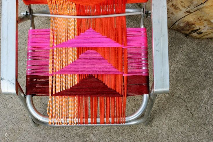Bekijk 'DIY geweven stoel' op Woontrendz ♥ Dagelijks woontrends ontdekken en wooninspiratie opdoen!