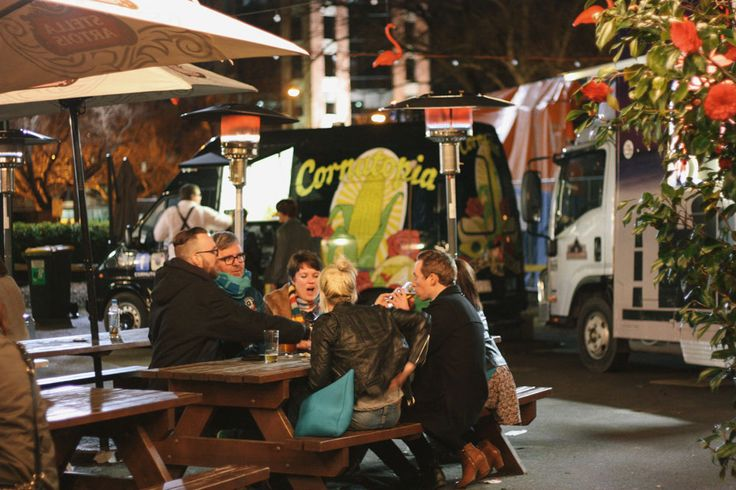 Food Truck Heaven ; Trailer Park at The Village Melbourne