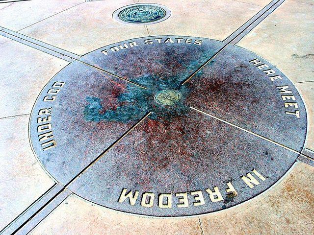 Four Corners Monument, Utah, Colorado, New Mexico, Arizona