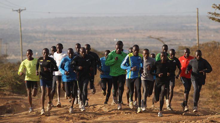 Os segredos dos corredores quenianos para correr mais rápido