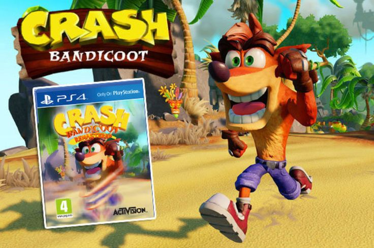 Crash bandicoot ps4 release date and remastered box art