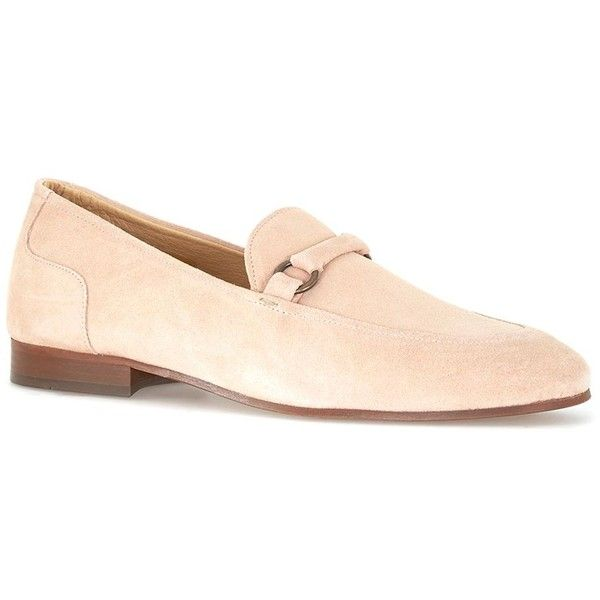 TOPMAN Hudson Nude Suede Loafers (330 BRL) ❤ liked on Polyvore featuring men's fashion, men's shoes, men's loafers, brown, topman mens shoes, mens suede shoes, suede tassel loafers mens shoes, mens loafer shoes and mens brown suede shoes