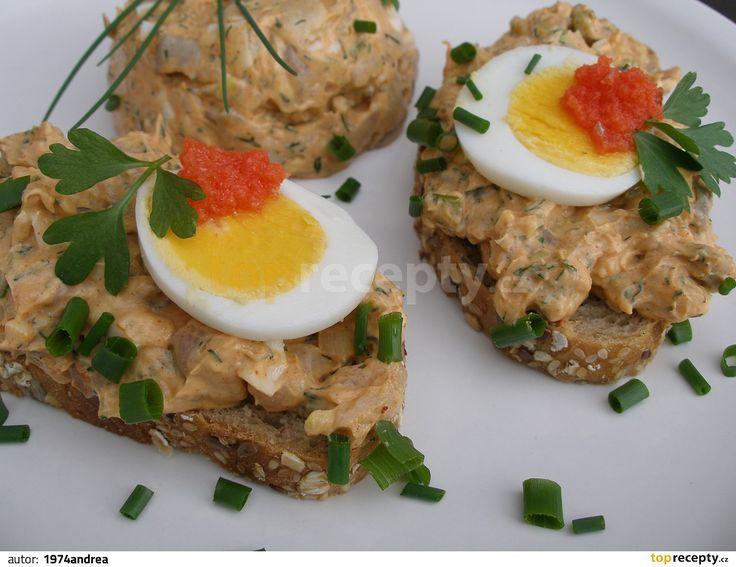 Matjesovo vajíčková pomazánka