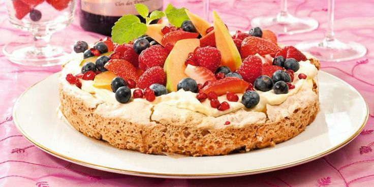 Pistachios, custard, fruits and berries - what's not to love?