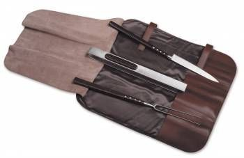 Laguiole Barbecue set with palissander handle
