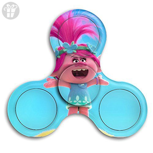 Tri Hand Fidget Spinner Trolls Perfect Gift For Add Adhd