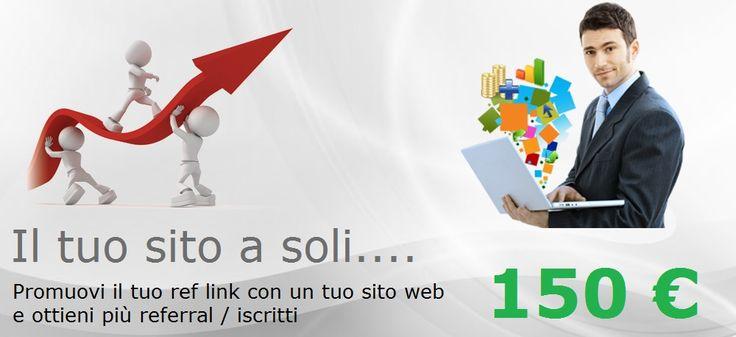 Creazione+siti+web+per+affiliati+network+marketing
