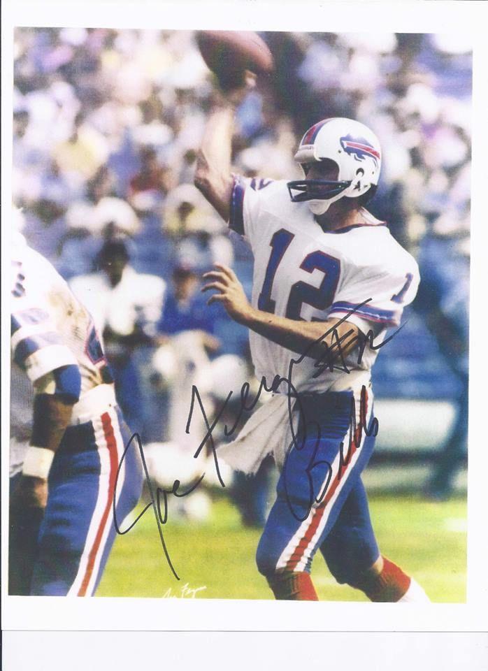 JOE FERGUSON - Buffalo Bills - MUST HAVE THIS AWESOME 8X10 AUTOGRAPHED PHOTO http://clektr.com/NRv