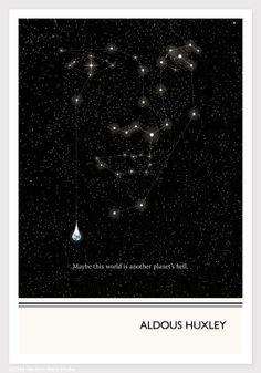 Aldous Huxley Quote Print