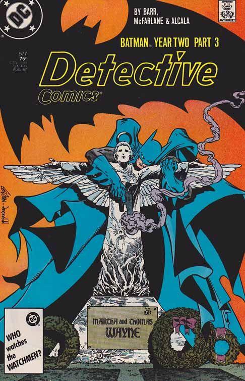 Detective Comics #577. Batman Year Two Pt.3 Todd McFarlane Pencils - Cover Art. Deadly Allies
