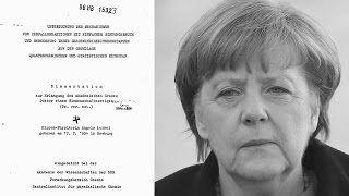 Dreistes Plagiat: Merkels Doktorarbeit ist gar keine!  Endgültige Beweise
