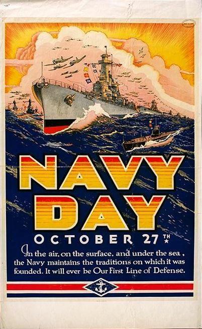 Navy Day Postor