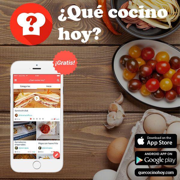 Que Cocino Hoy App | Mejores 30 Imagenes De Cocina En Pinterest Gimnasio Hacks