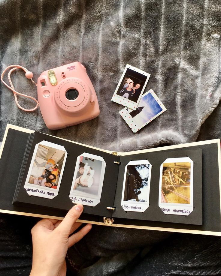 Take care of all your memories This Instax mini album allows you to store up to 60 Instax photos. Shop link in bio