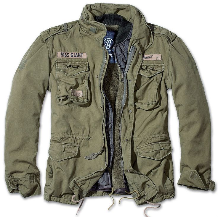 BRANDIT M65 GIANT MENS MILITARY PARKA US ARMY JACKET WINTER ZIP OUT LINER OLIVE in Clothes, Shoes & Accessories, Men's Clothing, Coats & Jackets   eBay!