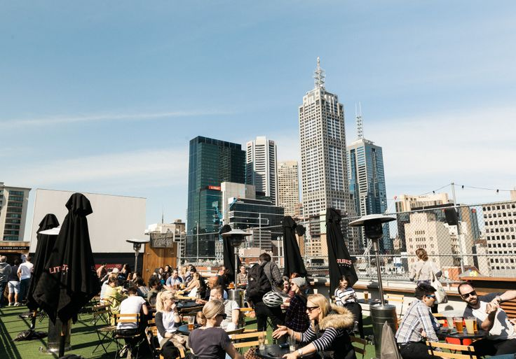 The sun's on its way back. Here are Melbourne's best outdoor drinking spaces to greet it when it does.