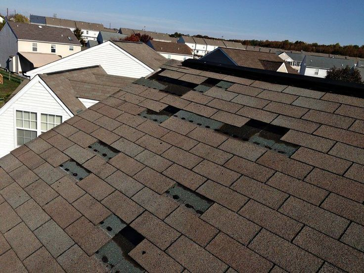 Composition Roof Shingle Repair