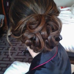wedding hairstylist in Rome Italy