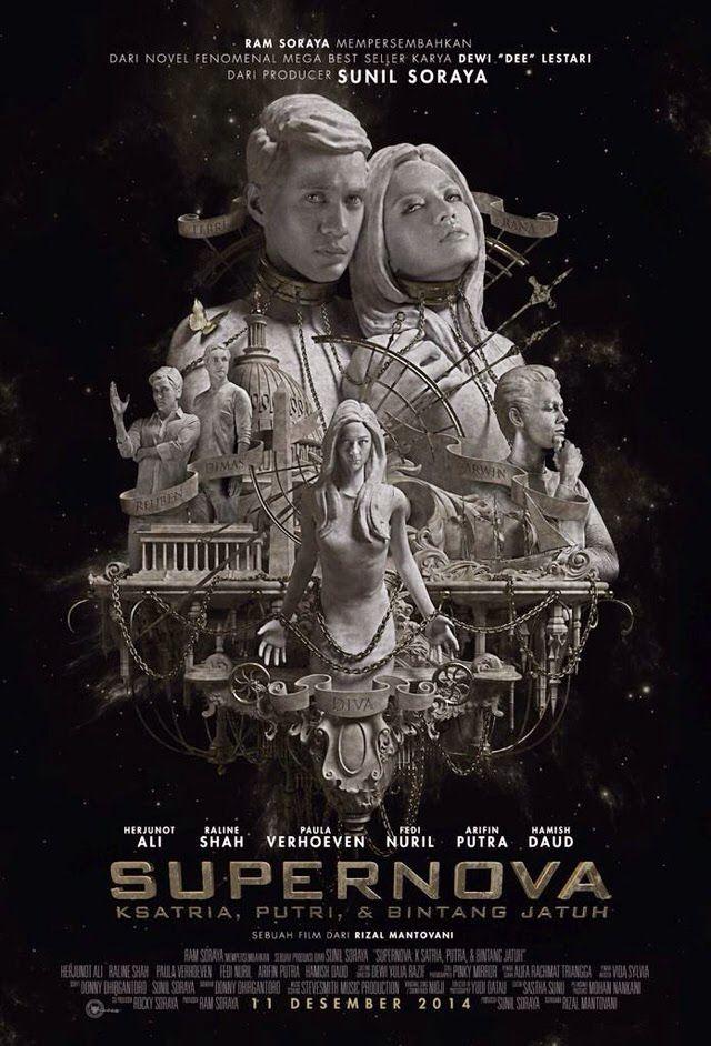 Supernova. Ksatria, Putri, dan Bintang Jatuh. (2014)  Director: Rizal Mantovani