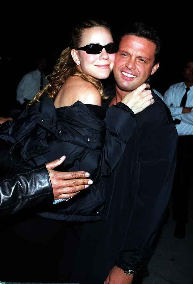 Mariah Carey and Luis Miguel   19 Totally Forgotten Celebrity Couples Of The '00s