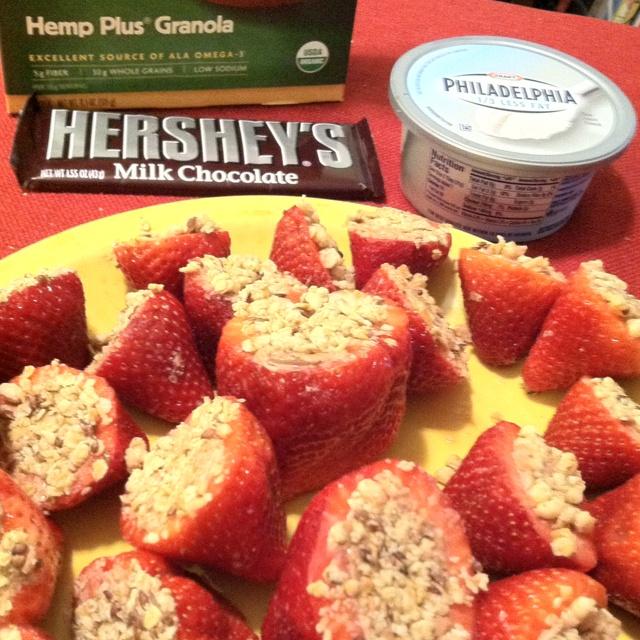 ... with a hemp granola crust. Amazing! | Party Food | Pinterest | Mel