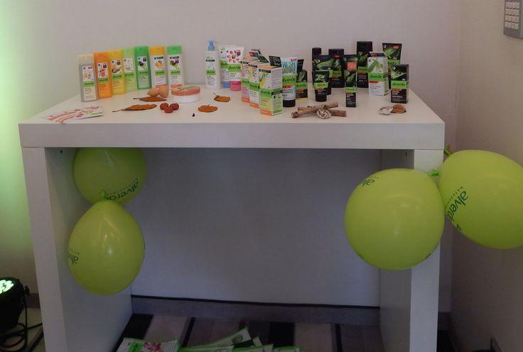 Produkte von #Alverde ganz liebe voll Präsentiert  #dmcb14