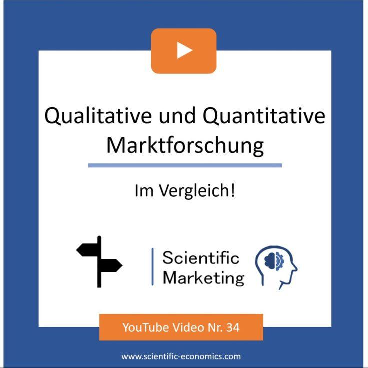 Qualitative Und Quantitative Marktforschung Im Vergleich Qualitative Und Quantitative Forschung In 2020 Quantitative Forschung Marktforschung Forschung