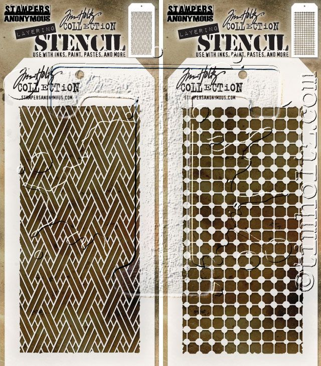 2017 sneak peeks – stampers anonymous stencils… | Tim Holtz