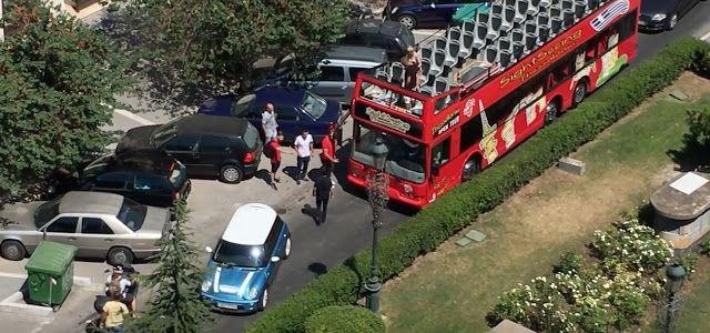 ΚΡΗΤΗ-channel: Οδηγός λεωφορείου «μονομαχεί» με οδηγό ΙΧ στη μέση...