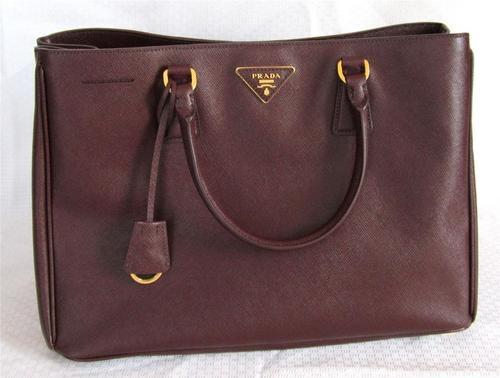 $1560 Authentic PRADA Saffiano Lux Calf Leather Tote Purse ...