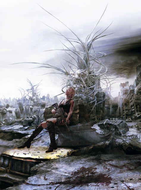 Parasite Eve: The Third Birthday promotional art.