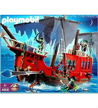 playmobil collector 4806 bateau pirates fantomes. Black Bedroom Furniture Sets. Home Design Ideas