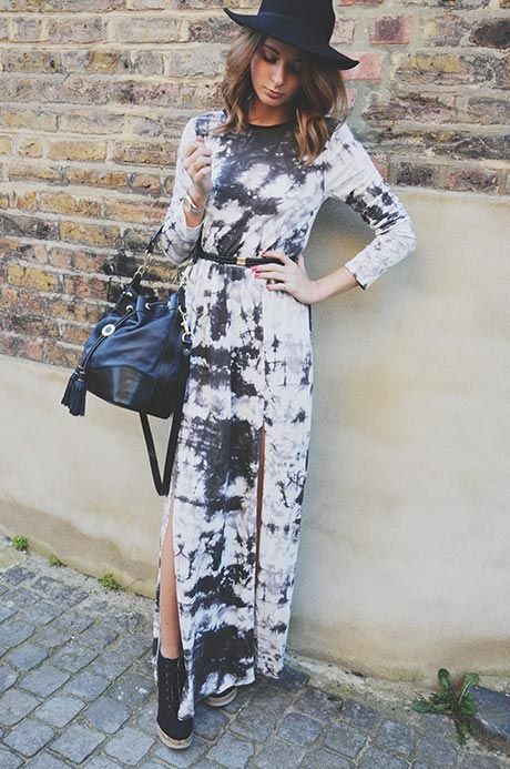 DRESS – MISSGUIDED BELT – ACCESSORIZE BOOTS – CALL IT SPRING BAG – ASPINAL HAT – TOPSHOP