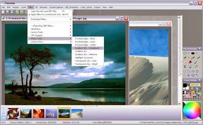 Download Aplikasi Untuk Edit Foto Photobie 7.2.10 Gratis Photobie adalah aplikasi untuk edit foto dengan fitur yang mirip dengan Photoshop ditambah screen capture canggih dan fitur pengeditan bingkai foto. Dengan screen capture Photobie anda dapat menyiapkan presentasi sederhana.