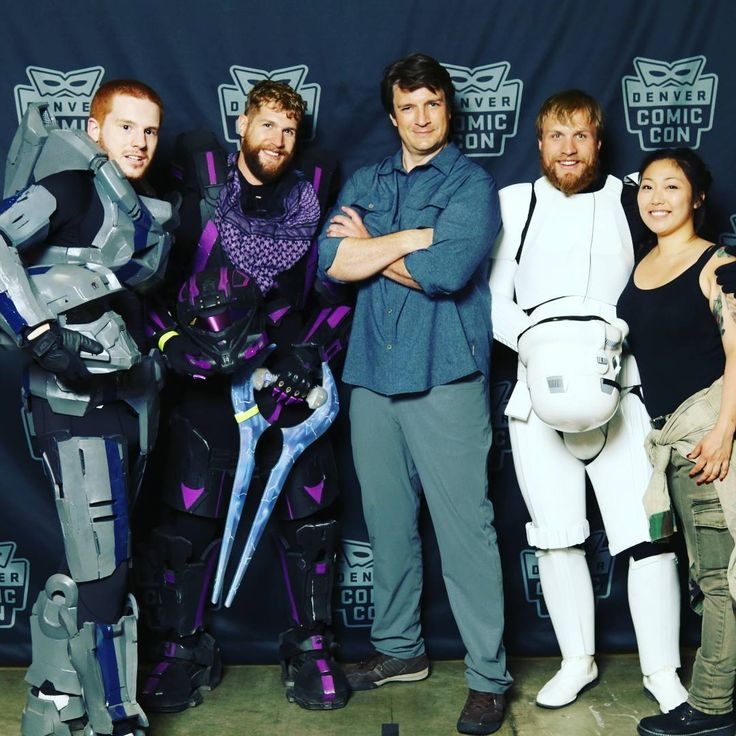 chiz_whizzHad an amazing time @denvercomiccon so much to do next time a three day pass for sure thanks to all the staff, volunteers and guests that made it possible. #con4acause#dcc2017#stormtrooper#denvercomiccon2017#halospartans#halo#starwarscosplay#cosplay#deadmanwonderland#nathanfillion#majorasmask#darksoulscosplay#cortana#monsterhuntercosplay#monsterhunter
